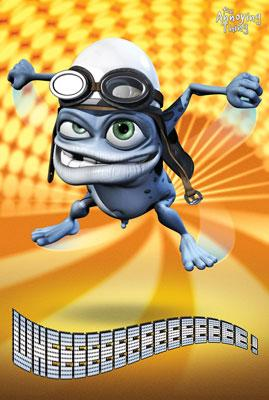 Crazy Frog   Lights   Poster