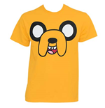 ADVENTURE TIME Jake Face Shirt Yellow