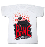 Dark Knight Rises Bane Blood T Shirt White