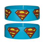 Superman Rubber Wristband Logo