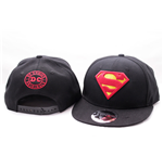 Superman Adjustable Cap Classic Logo Black