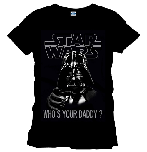 Star Wars T-Shirt Who´s Your Daddy black
