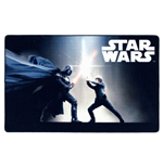 Star Wars Carpet Black Fight 100 x 160 cm