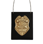 Resident Evil S.T.A.R.S. Badge & Neck Chain Set Undercover Edition SDCC Exclusive