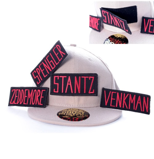 Ghostbusters Customized Label Baseball Cap Names