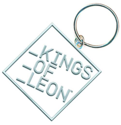 Kings Of Leon Enamel Keychain Logo