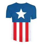 Marvel T-Shirt Captain America Uniform