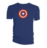 Marvel T-Shirt Captain America´s Shield Distressed