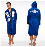 Doctor Who Fleece Bathrobe Tardis