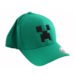 Minecraft Baseball Cap Creeper /XL