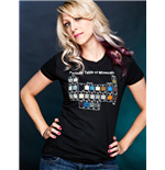 Minecraft Ladies T-Shirt Periodic Table