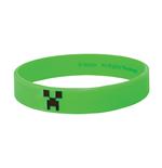 Minecraft Rubber Wristband Creeper