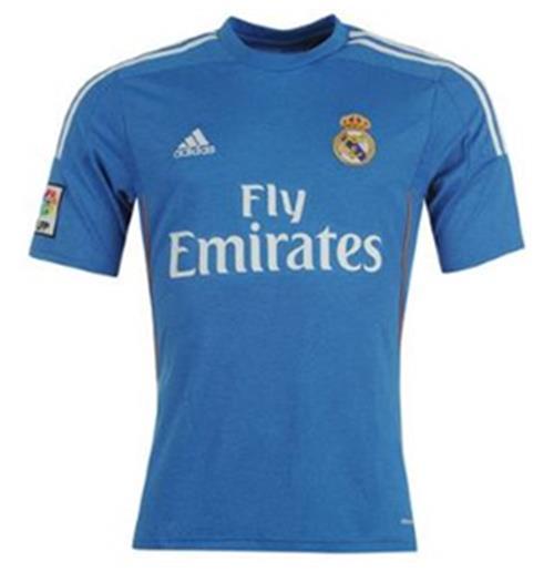new styles 2635a 3cdb5 2013-14 Real Madrid Adidas Away Shirt (Kids)