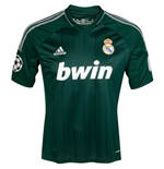 2012-13 Real Madrid Adidas 3rd UCL Shirt