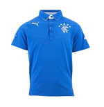 2013-14 Rangers Puma Polo Shirt (Blue) - Kids