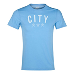 2013-14 Man City Nike Covert Graphic Tee (Sky)