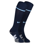 2013-14 Man City 3rd Nike Football Socks (Navy)