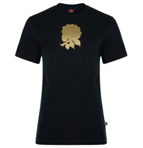 2012-13 England Graphic Cotton Tee (Black)