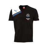 2011-12 Newcastle Puma Soft Training Tee (Black)