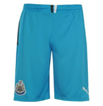 2013-14 Newcastle Away Goalkeeper Shorts (Blue)