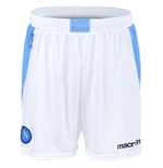 2012-13 Napoli Macron Home Shorts (White)