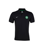 2013-14 Celtic Nike Authentic GS Polo Shirt (Black)