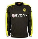 2013-14 Borussia Dortmund Away Long Sleeve Puma Shirt