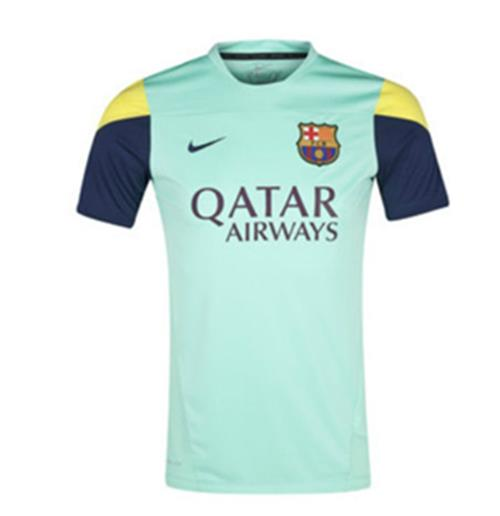 95d27e0ca Buy Official 2013-14 Barcelona Nike Training Jersey (Green)